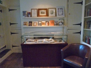 The Sense and Sensibility Exhibit in the Reading Room