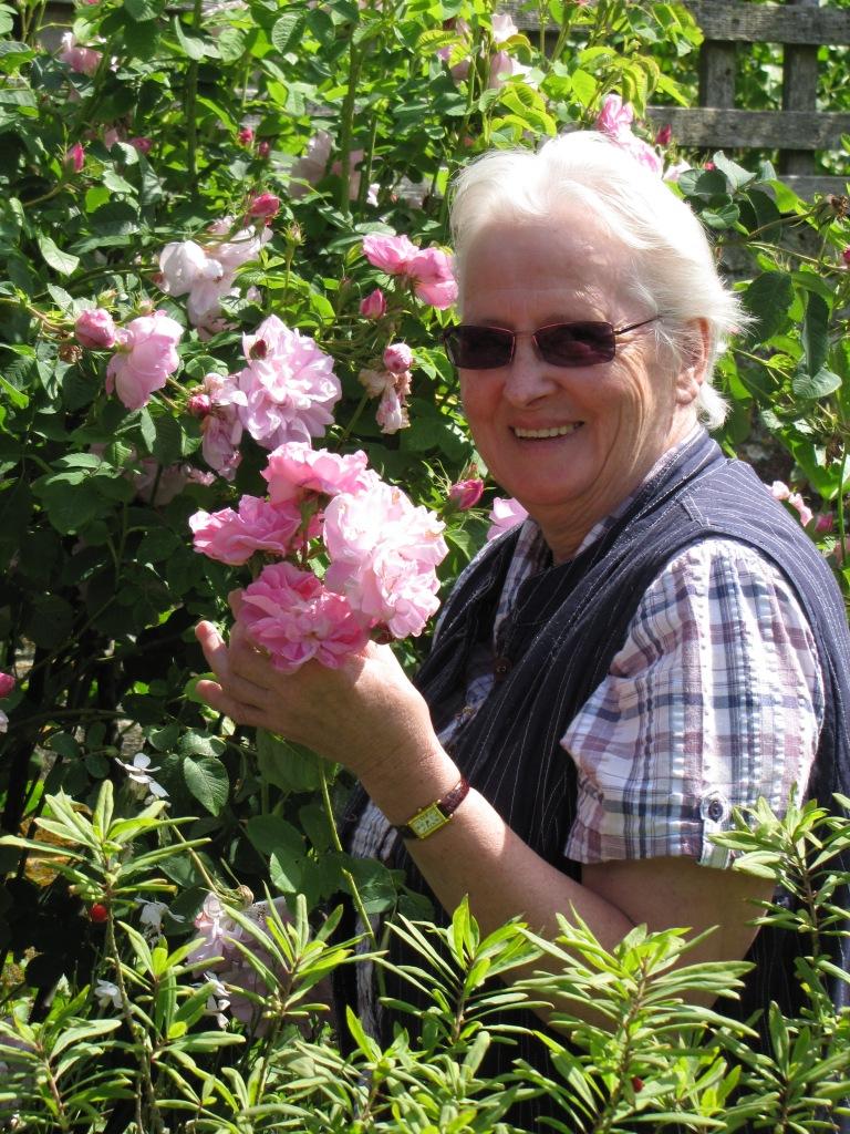 Meet Ann in the Garden