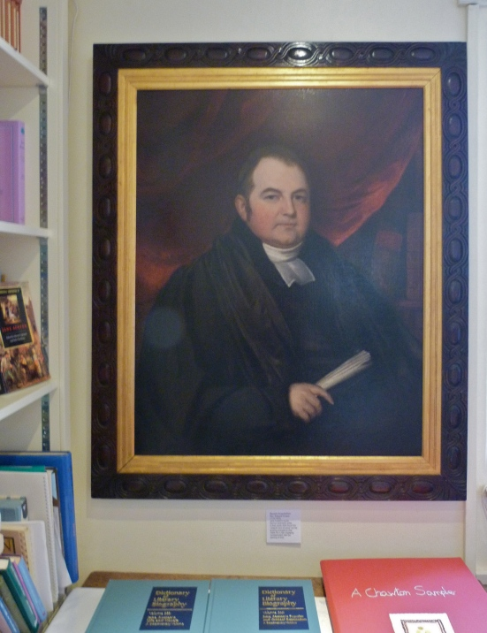 The Portrait of Edward Cooper on display in the Reading Room