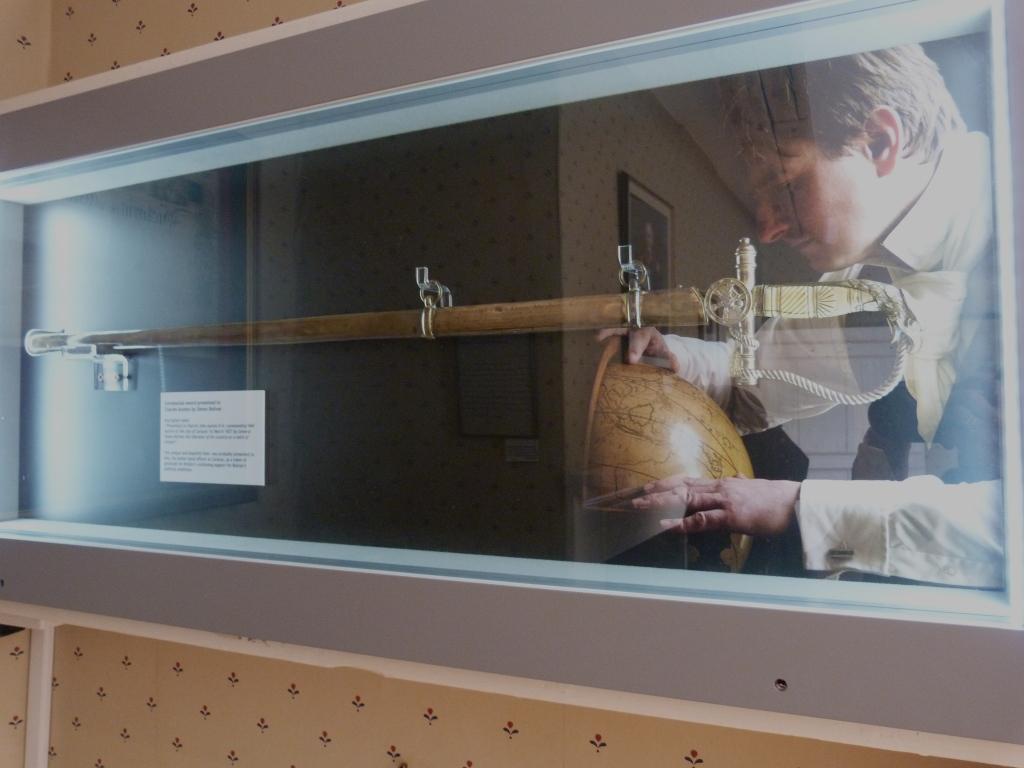 Charles Austen's Sword.