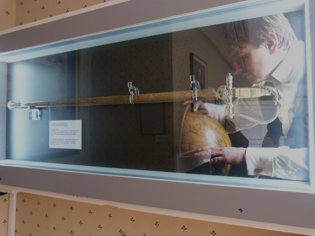 Charles Austen's Sword on show at the Museum