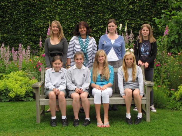 The Highly Commended Group with Rebecca Smith and Annalie Talent.